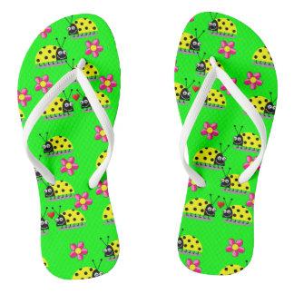 Flip Flops Ladybug