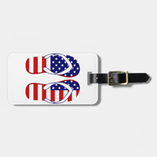 Flip flops luggage tag