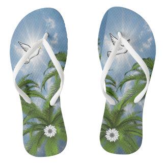 Flip Flops Palm Tree