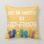 Flip-flops pillow