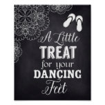 Flip Flops Sign for Wedding Guest,Chalkboard,Lace