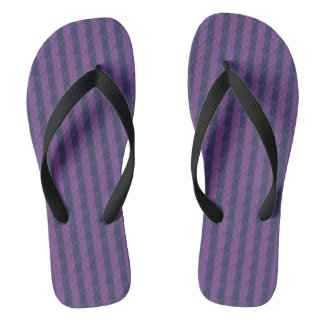 Flip flops slate, black, purple