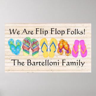 Flip Flops - SRF Poster
