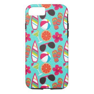 Flip Flops Sunglasses Beach Ball iPhone 7 Case