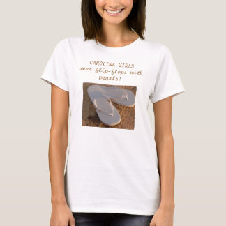 Flip-flops With Pearls T-Shirt