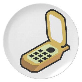 Flip Phone Plate