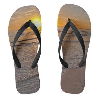 FlipFlops: Sunset by the Beach Flip Flops