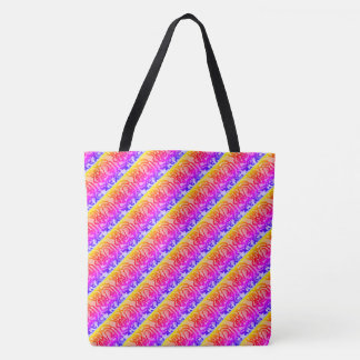 Flipped Colour Splash Tote Bag