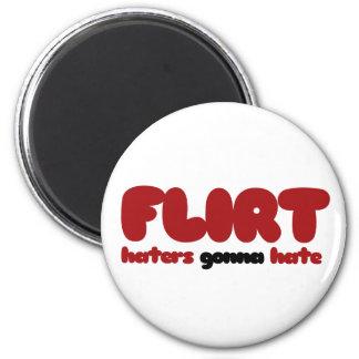 Flirt 2 Inch Round Magnet