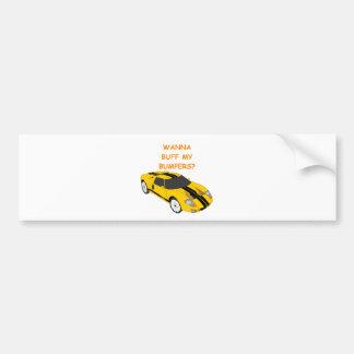 flirt bumper sticker