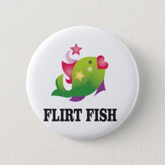 flirt fish yeah 2 inch round button