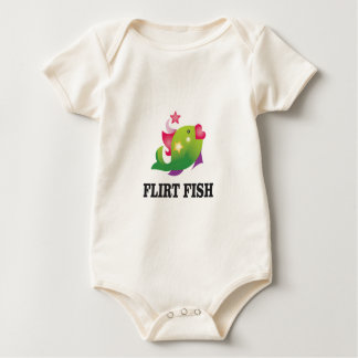 flirt fish yeah baby bodysuit
