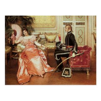 Flirtation - Vintage Motive - Soulacroix Postcard