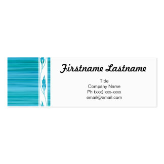 Flirty Business Mini Business Card