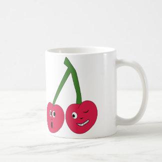 Flirty Cherries Cute Couple Gift Mug