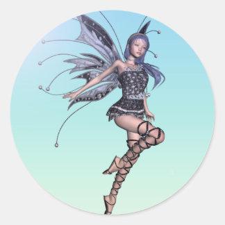 Flirty Fae 05 Classic Round Sticker