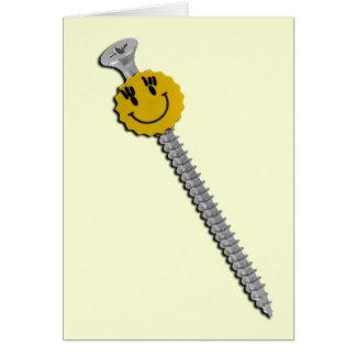 Flirty Fun Love - Wanna Screw Around? Card