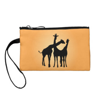 Flirty Giraffe Coin Purse