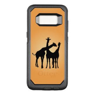 Flirty Giraffe OtterBox Commuter Samsung Galaxy S8 Case