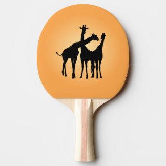 Flirty Giraffe Ping Pong Paddle