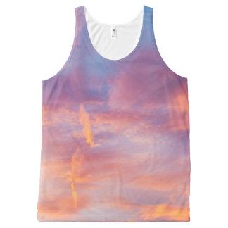 flirty sky All-Over-Print tank top