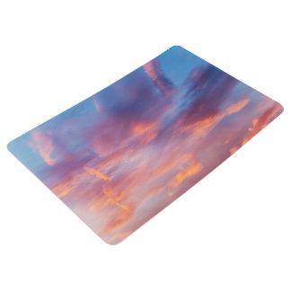 flirty sky floor mat