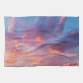 flirty sky kitchen towel