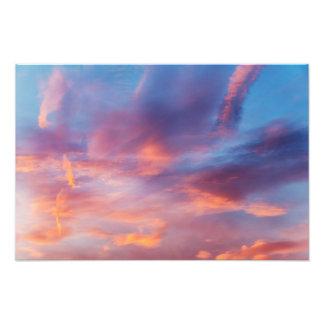 flirty sky photo print