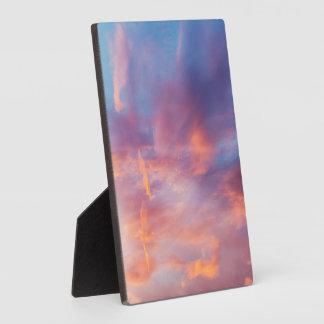 flirty sky plaque