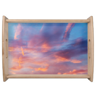 flirty sky serving tray