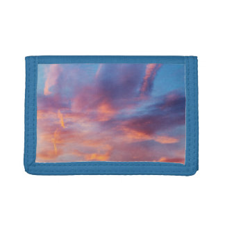 flirty sky trifold wallets
