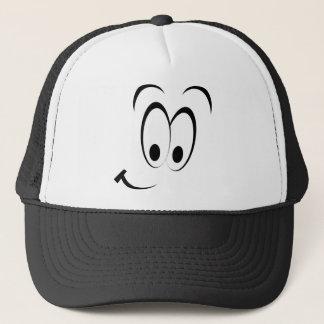 Flirty Smiley Face Trucker Hat