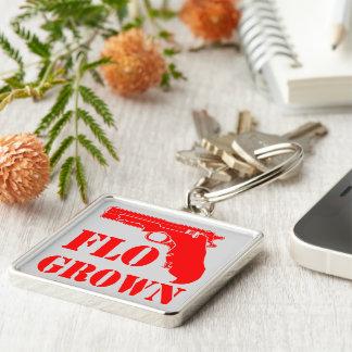 Flo Grown Pistol  FB.com/USAPatriotGraphics Keychain