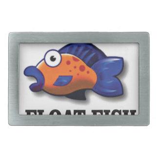 float fish rectangular belt buckles