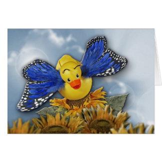 Float Like a Butterfly! Card