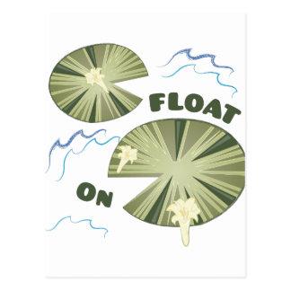 Float On Postcard