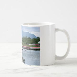 Float plane 11, Lake Hood, Anchorage, Alaska, USA Coffee Mug