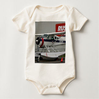 Float plane 24, Lake Hood, Alaska Baby Bodysuit