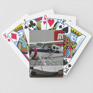 Float plane 24, Lake Hood, Alaska Bicycle Playing Cards