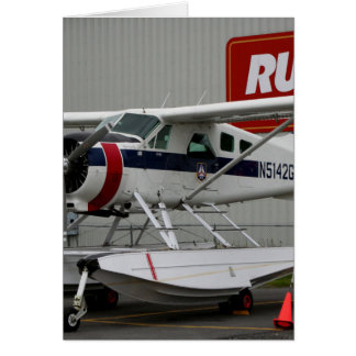 Float plane 24, Lake Hood, Alaska Card