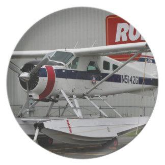 Float plane 24, Lake Hood, Alaska Dinner Plate