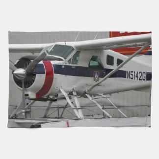 Float plane 24, Lake Hood, Alaska Kitchen Towel