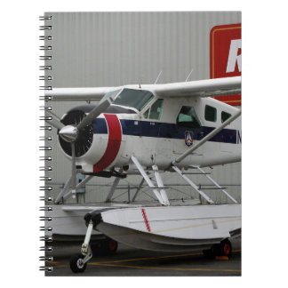 Float plane 24, Lake Hood, Alaska Notebooks