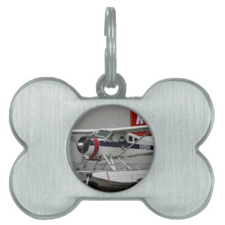 Float plane 24, Lake Hood, Alaska Pet Name Tag