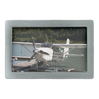 Float plane, Trail Lake, Alaska 2 Rectangular Belt Buckle