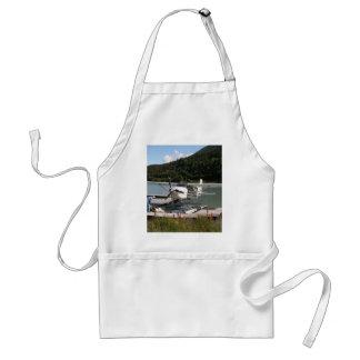Float plane, Trail Lake, Alaska 2 Standard Apron