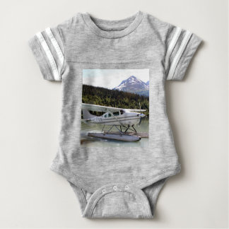 Float plane, Trail Lake, Alaska 3 Baby Bodysuit