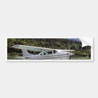 Float plane, Trail Lake, Alaska 3 Bumper Sticker