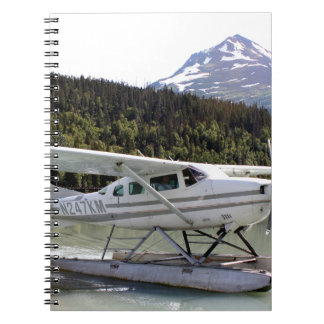 Float plane, Trail Lake, Alaska 3 Notebook