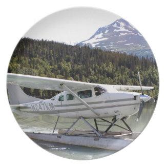 Float plane, Trail Lake, Alaska 3 Plate